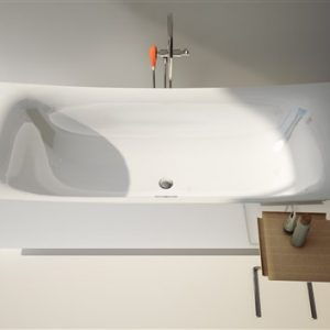 Clou Hammock vrijstaand bad 200 x 85 cm wit acryl