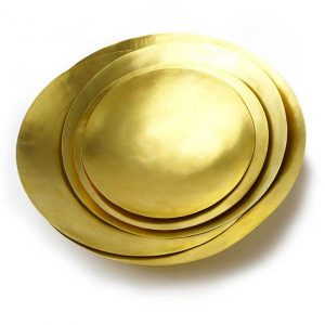 Tom Dixon Form Bowl schaal set large goud