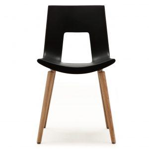 Tonon Nine-Eighteen stoel met eiken onderstel