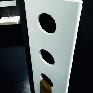 Instamat Treo designradiator verticaal 203 x 39,8mm (H x L) wit