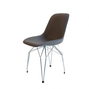 Kubikoff Afneembare bekleding - V9 Side Shell - Grand comfort - Kunstleer - Bruin -