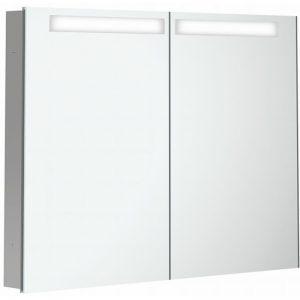 Villeroy & boch My view in inbouw spiegelkast 100cm.2xdeur+led+vergr.spiegel
