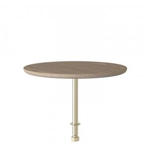 Vita Copenhagen Round Table - Bijzettafel voor Lounge Around sofa - Hout -