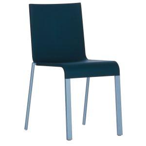 Vitra .03 stoel met poedercoating onderstel niet stapelbaar