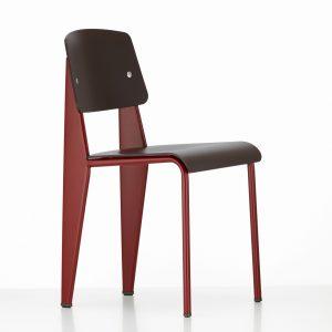 Vitra Standard SP stoel diepzwart