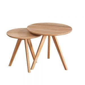 Nordiq Yumi nest of tables | naturelbijzettafeltjes