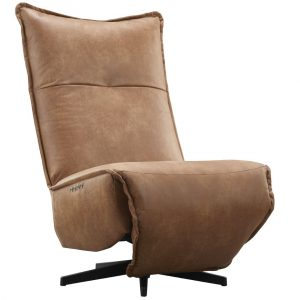 IN.HOUSE Relaxfauteuil Amilia Cognac