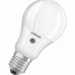 Osram Parathom Classic E27 A 5.2W 827 Mat   met Sensor - Extra Warm Wit - Vervangt 40W