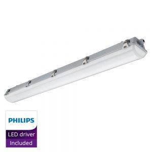 Noxion LED Armatuur Waterdicht Pro 120cm 4000K 2650lm | Doorvoerbedrading (5x2.5mm2) - Vervangt 1x36W