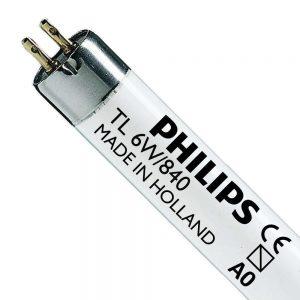 Philips TL Mini 6W 840 Super 80 (MASTER) | 21cm - Koel Wit