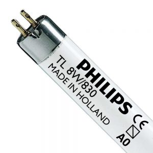 Philips TL Mini 8W 830 Super 80 (MASTER) | 29cm - Warm Wit