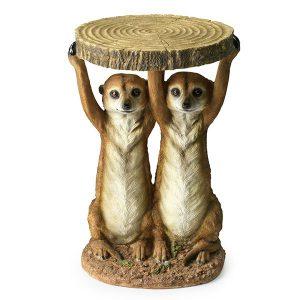 KARE Bijzettafel Meerkat Sisters