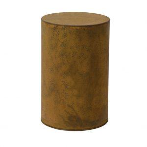 Bijzettafel Bloemenzuil Cilinder 50