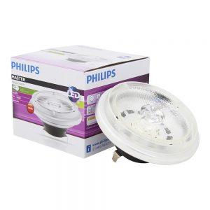 Philips LEDspot LV G53 AR111 12V 11W 930 24D (MASTER)   Warm Wit - Beste Kleurweergave - Dimbaar - Vervangt 50W