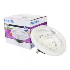 Philips LEDspot LV G53 AR111 12V 15W 930 40D (MASTER) | Warm Wit - Beste Kleurweergave - Dimbaar - Vervangt 75W