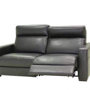 Agnelli Sofa Relaxbank Lois 2,5-zits Zwart