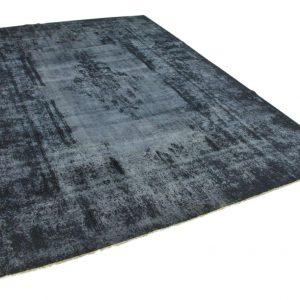 vintage vloerkleed zwart 393cm x 286cm