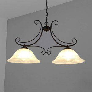 Hanglamp Calabre, 2-lichts
