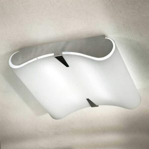 Gewelfde plafondlamp SECRET 9220, E27, 60 x 60 cm