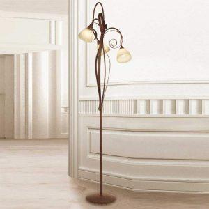 Vloerlamp Francesco, 3-lichts