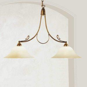 Messing hanglamp Antonio