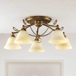 Plafondlamp Antonio, 5-lichts