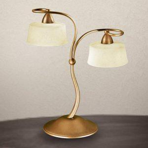 Klassieke tafellamp Alessio, 2-lichts
