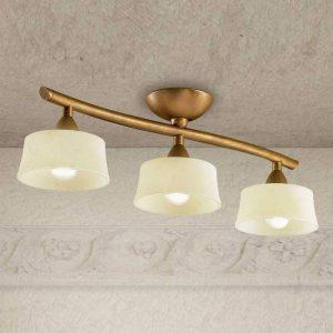 Langwerpige plafondlamp Alessio