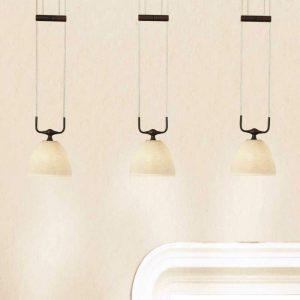 In hoogte verstelbare hanglamp Samuele