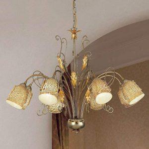 Hanglamp Ilaria met acht lichtbronnen