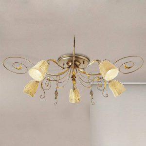 Plafondlamp Ilaria - 5 lichtbronnen.
