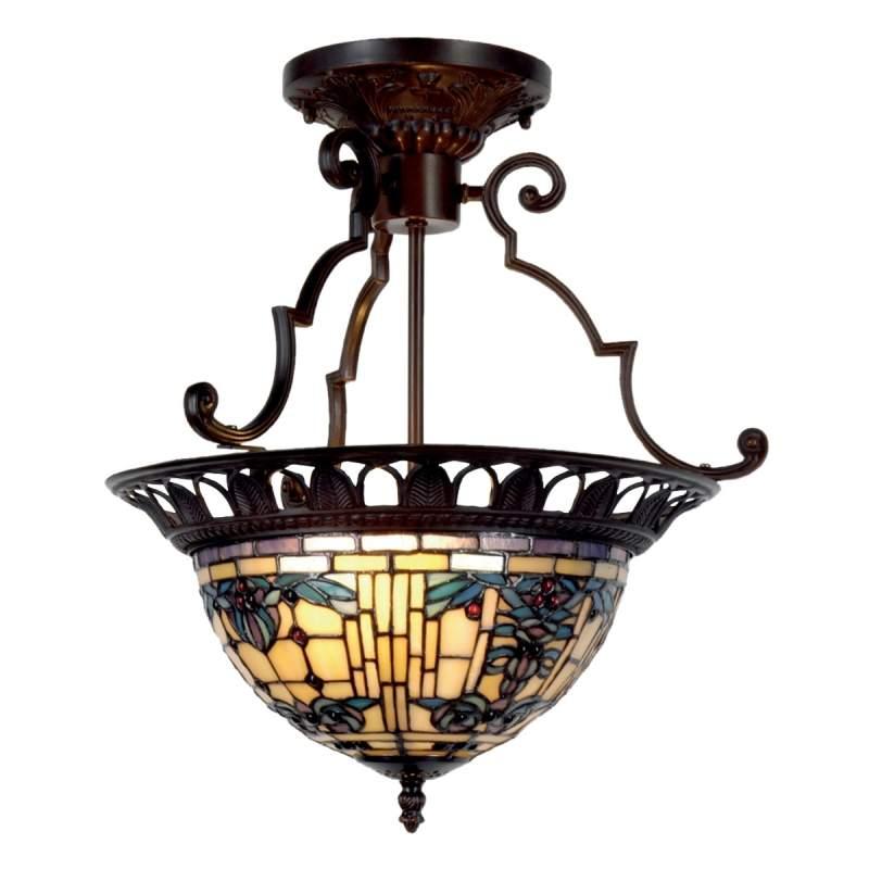 Antiek ontworpen plafondlamp Kimberly, 37 cm