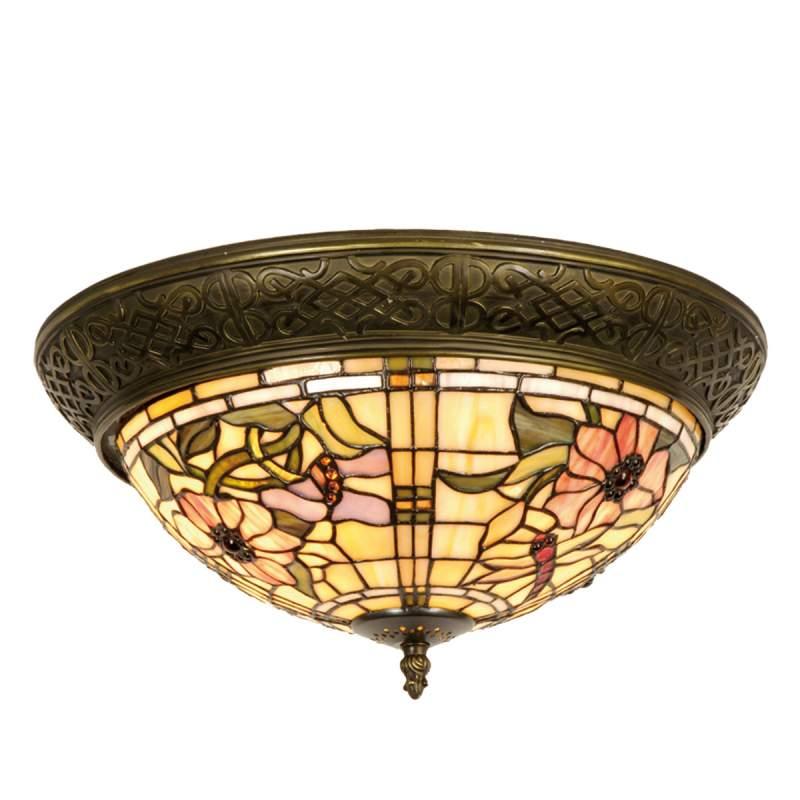 Mira - plafondlamp in Tiffany-stijl