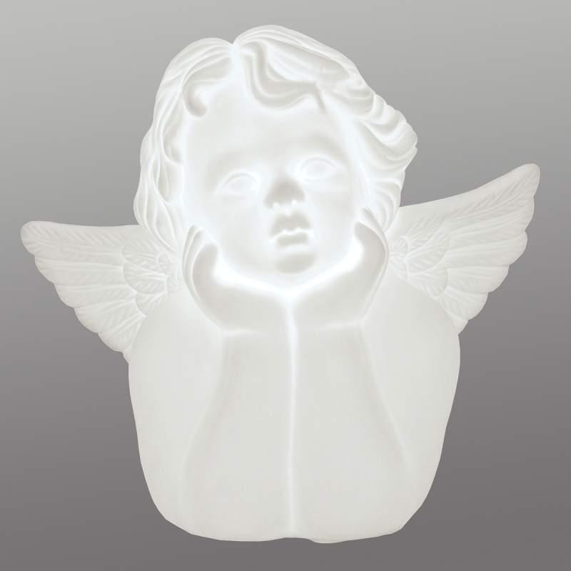 Kleine tafellamp Angelo uit keramiek