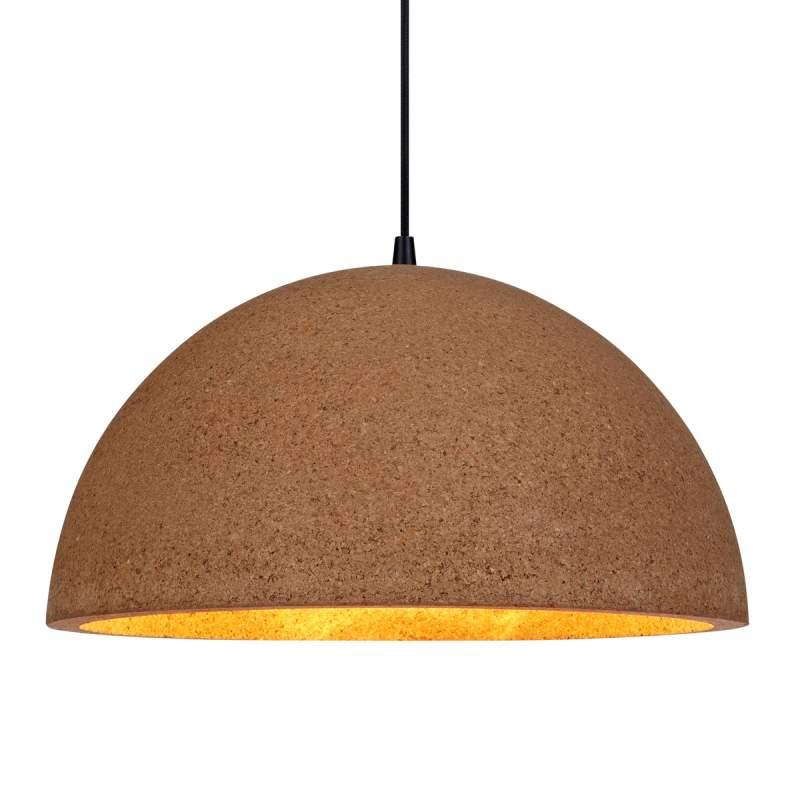 Natuurlijk ogende hanglamp Cork