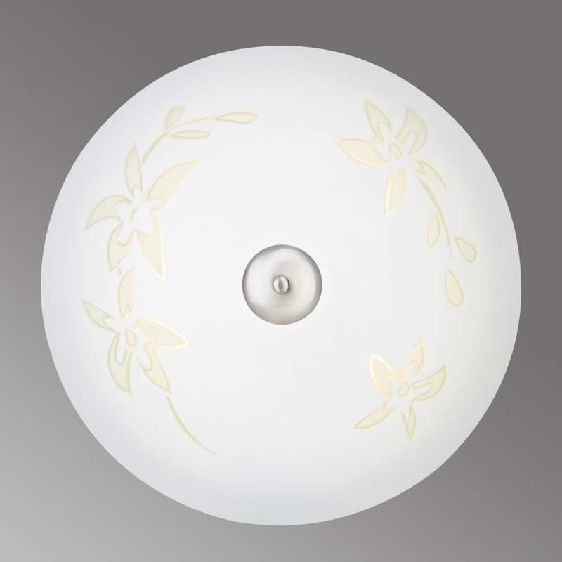 LED plafondlamp Solara 43 cm met motief