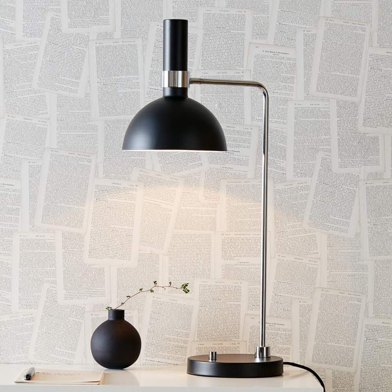 Moderne tafellamp Larry met draaidimmer