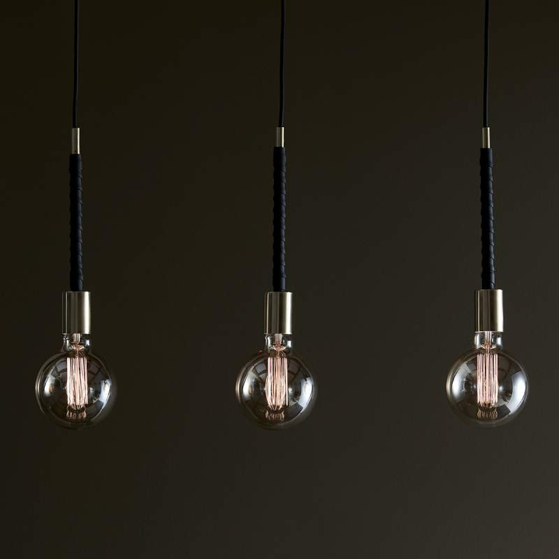 Hanglamp Saddle met drie lampen