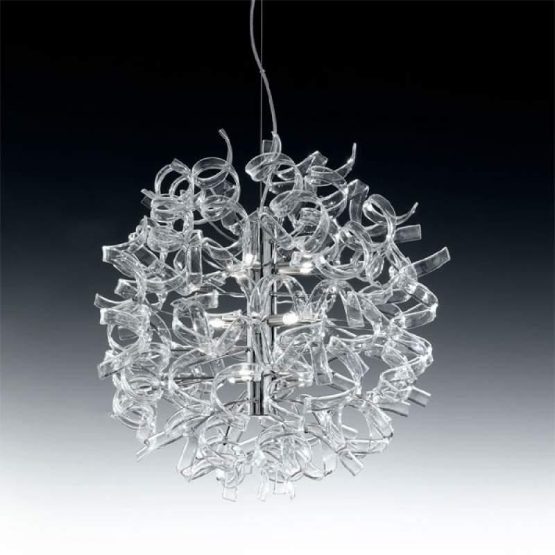 Moderne hanglamp ASTRO, 9-lichts helder