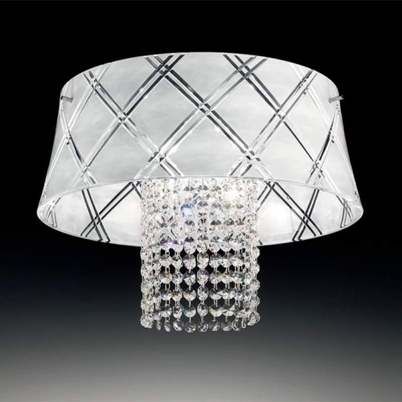 Chique plafondlamp MEDUSA 40, 1-lichts, wit