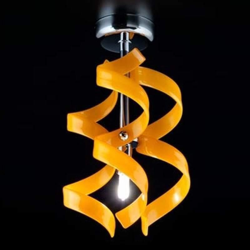 Ranke plafondlamp Orange