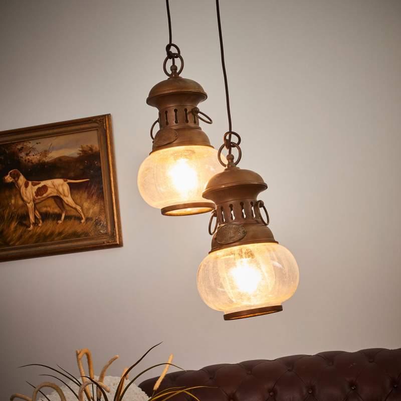2-Lichts hanglamp Wind