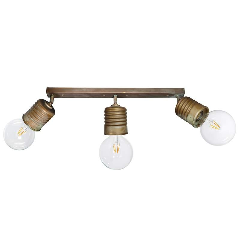 Vintage messing plafondlamp Orti