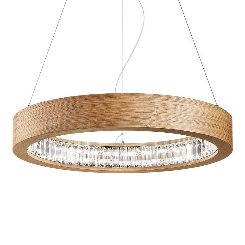 Ronde LED hanglamp Libe Round, 60 cm