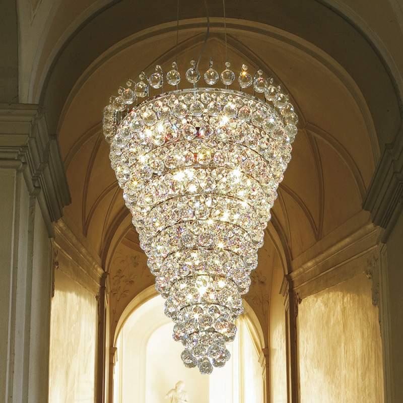 Ascana - prachtige hanglamp, Asfour-kristal