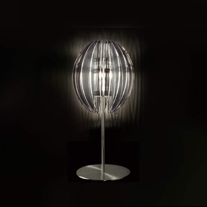 Moderne tafellamp PLANET hoog, transparant