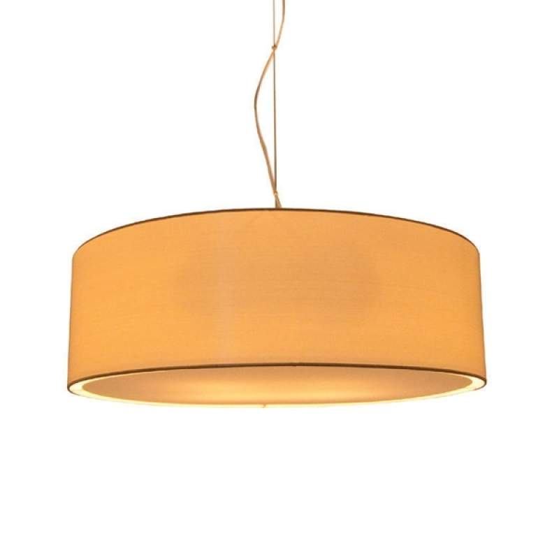 Hanglamp LIVING ELEGANT, diameter 60 cm, crème