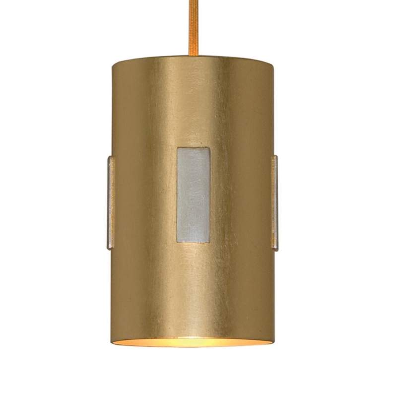 Strakke hanglamp SOLO, goud