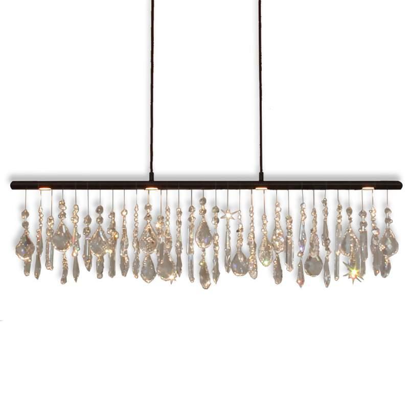 Anteo - led-hanglamp met kristallen