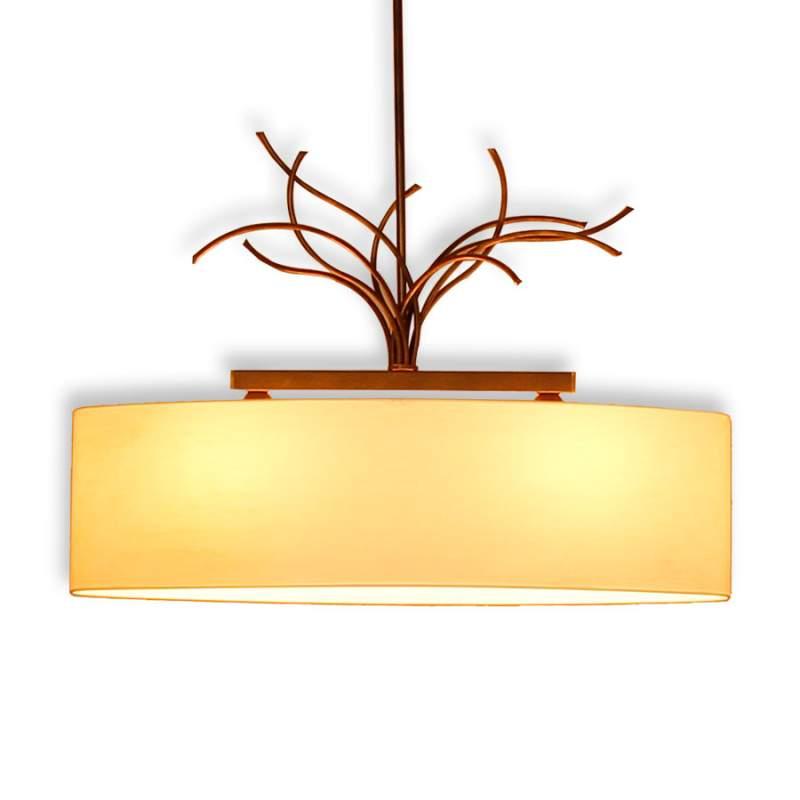 Crèmekleurige hanglamp Living